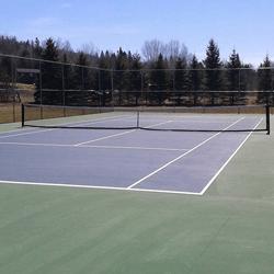 Tennis Blue Sea