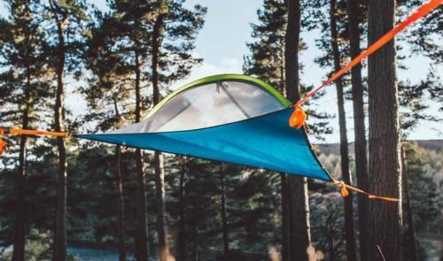 Hébergement de tente suspendue!